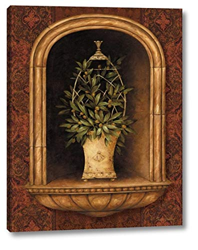 - Olive Topiary Niches I by Pamela Gladding - 30