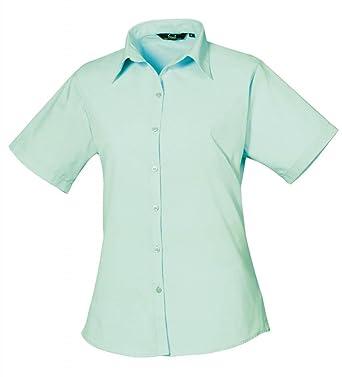 b06b2ad9797 Premier Women s poplin Short Sleeve blouse
