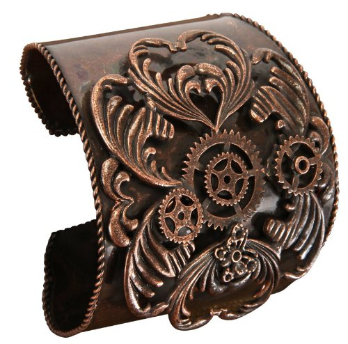 elope Women's Steampunk Antique Copper Bracelet Adult