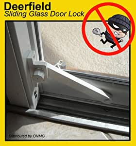 Deerfield Sliding Glass Door Deadbolt Lock Aluminum Frame