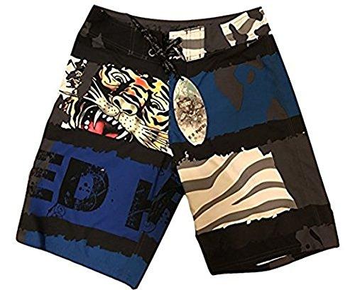 Ed Hardy Tiger Board Shorts 31 - Ed Hardy Boardshorts
