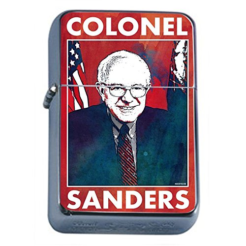 Bernie-Sanders-Flip-Top-Dual-Torch-Lighter-S5-Smoking-Cigarette-Smoker-420-Sexy-Weed-Double-Flame-Presidential-Candidate