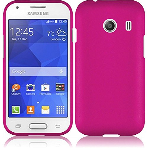 Wydan Case for Samsung Galaxy Ace Style S765C Stardust s766c - Rubberized 2-Piece Snap On Hard Case Cover - Pink