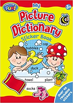 Picture Dictionary Sticker Book (2 Titles):