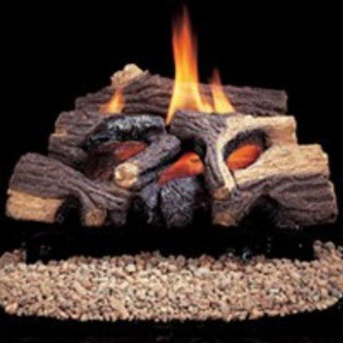 Fmi Vent (Comfort Flame CRB3624PRA River Canyon Oak Vent-Free Ceramic Fiber Logs, 24-Inch)