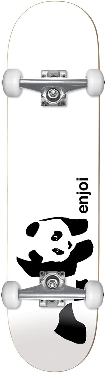 Enjoi Whitey Panda Wide R7 Skateboard Deck