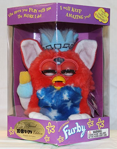 Statue of Liberty Furby Model 70-893 KB Toys Special Edition Electronic Furbie