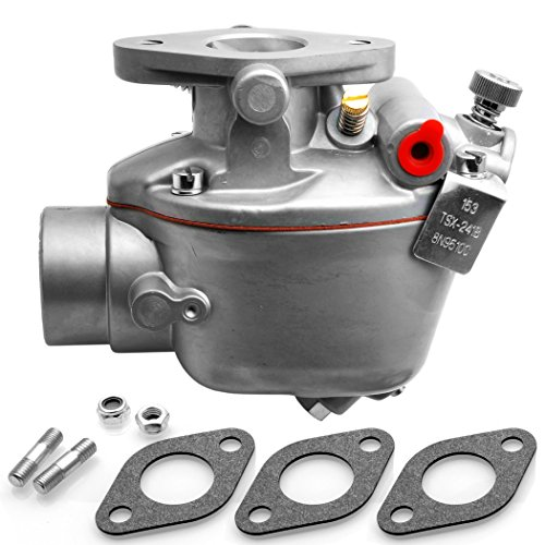 Radracing 8N9510C Carburetor Replacement Compatible Tractor 2N 8N 9N Marvel Schebler Heavy Duty TSX33 TSX241A TSX241B TSX241C 13876 0-13876 B3NN9510A 9N9510A (9n 2n 8n Carburetor)