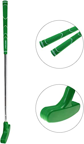 Crestgolf Junior Rubber Golf Putter -24 inches,Double Way, Suitable for Both Right Handed Left Handed