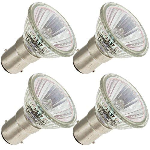 Industrial Performance FTH/DC/CG, 35 Watt, MR11, Bayonet (BA15D) Base Light Bulb (4 Bulbs)