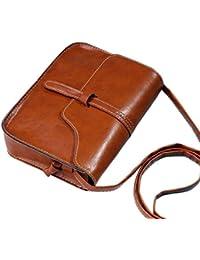 Gillberry Vintage Purse Bag Leather Cross Body Shoulder Messenger Bag