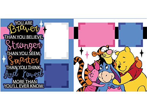 """""""You are Braver (Winnie the Pooh)"""" Scrapbook Kit"""