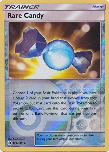 - Rare Candy - 129/149 - Uncommon - Reverse Holo - Pokemon Sun & Moon