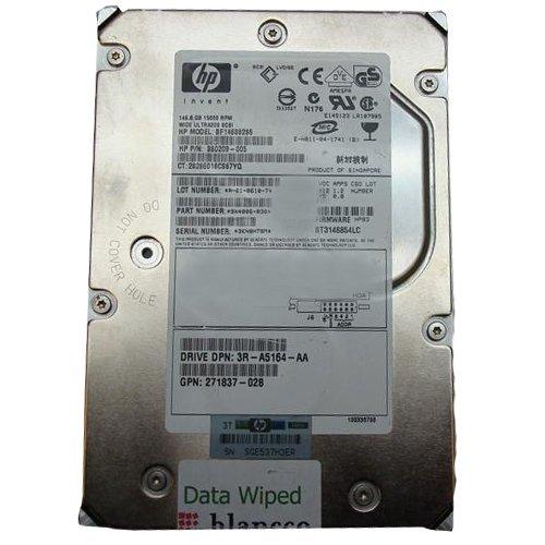 360209-005 Hp 146.8Gb 15000Rpm Scsi Ultra320 Universal Hot-Plug Hard