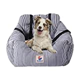 Dog Seat Carrier Pet Travel Safety Car Seat Cover Booster Seats for Dog with Storage Pocket