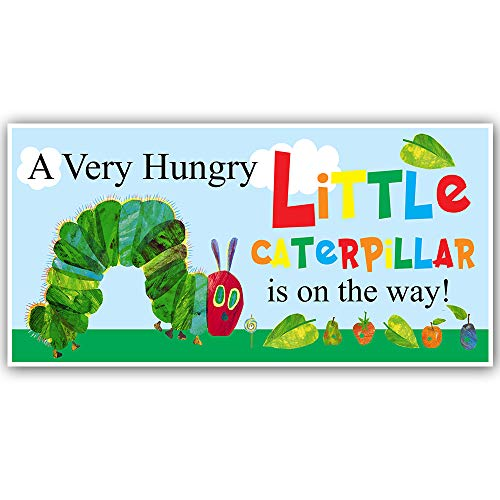 Hungry Caterpillar Baby Shower Banner Custom Party Backdrop Decoration