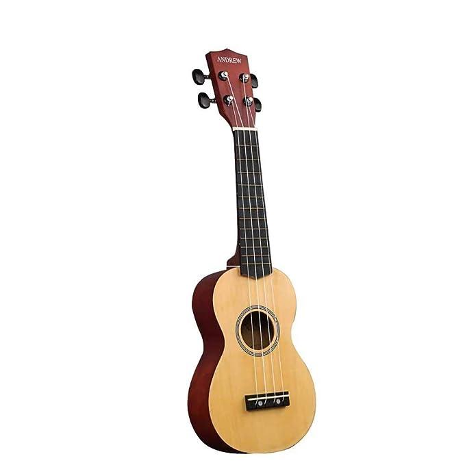 D.ragon Guitarra para niños Ukulele de Madera de 17 Pulgadas ...