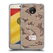 Official Support British Soldiers Desert Camo Soft Gel Case for Motorola Moto X Play