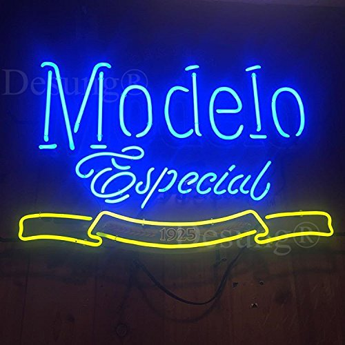 Desung New 20''x16'' M odelo E special 1925 Neon Sign Man Cave Signs Sports Bar Pub Beer Neon Lights Lamp Glass Neon Light CX20