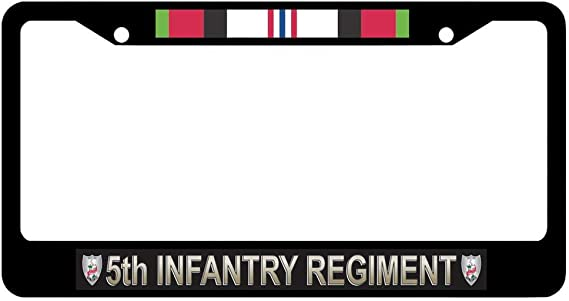 12X6 car Front Decoration All American 82Nd Airborne NOCITUN Metal License Plate Frame Custom car Decoration