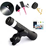 4 Multifunction Bike Light Novelty Gadget Waterproof Flashlight Listen Music Outdoor Camping Fishing Portable Sport Travel Speaker Cool Stuff Gift Bicycle Accessories SOS Signal PA1-11