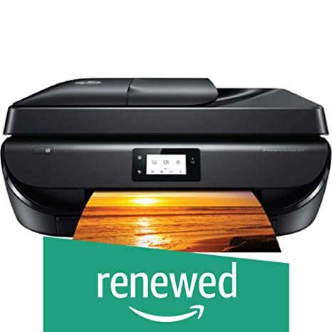 Renewed  HP DeskJet Ink Advantage 5275 Multi Function Wireless Printer nbsp; Black  Printers