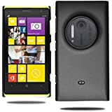 Plus Premium Rubberised Matte Hard Back Case Cover With Original Packaging For Nokia Lumia 1020 - Black