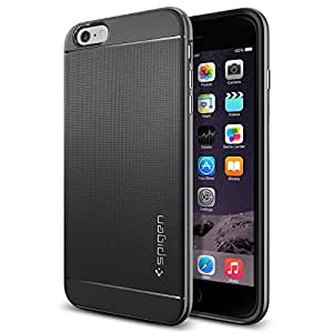 iPhone 6 Plus Case, Spigen [METALLIZED BUTTONS] Neo Hybrid Series Case for iPhone 6 Plus (5.5-Inch) - Gunmetal (SGP11064)