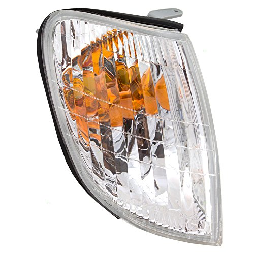 [Passengers Park Signal Corner Marker Light Lamp Lens Replacement for Lexus 81511-50060] (Ls400 Lamp)
