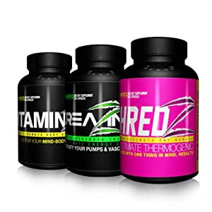 how to take shredz alpha female stack