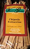 Virginia Gourmet All Natural Vegan Chipotle Fettuccine Pasta- 6 Pack- 12 oz. per Pack