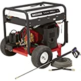 NorthStar Gas Cold Water Pressure Washer - 5000 PSI, 5.0 GPM, Electric Start, Honda Engine, Belt Drive, Model# 1572091