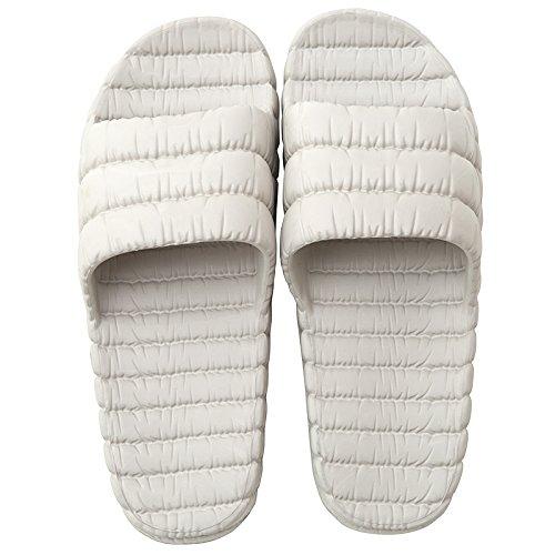 soffice plastica sandali estate grigio in slip di ciabattine amp; chiaro spesso Il Pantofole Ladies di doccia Flip base Flop SANDALI MONAcwe Ms coppie maschile le Anti interno Bagno fondo a Home xqwZUZ
