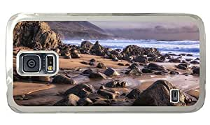 Hipster durable Samsung Galaxy Note3 Cases beach shore rocks PC Transparent Samsung Galaxy Note3 hjbrhga1544