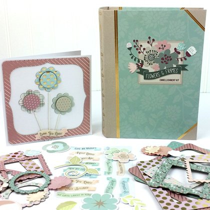 Flowers and Frames Embellishment Kit by Youngevity