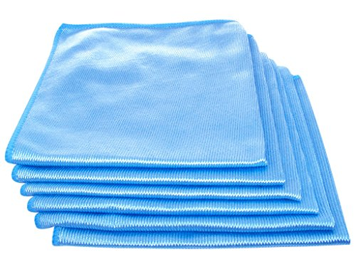 (Streak Free Lint Free Whole House Cleaning Cloths 16