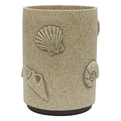 Allure Home Creation Folly Beach Resin Wastebasket
