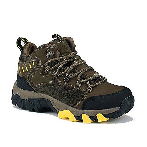 Caída CHT Hombres Al Aire Libre Del Resorte Del Invierno Montañismo Espesado De Trekking Zapatos De Tamaño Marrón Verde Multi-código Opcional Green
