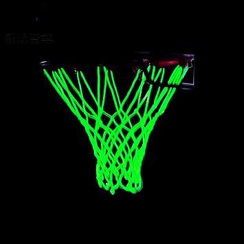 Leezo Glow in The Dark Basketball Net - Accesorios de Red para ...