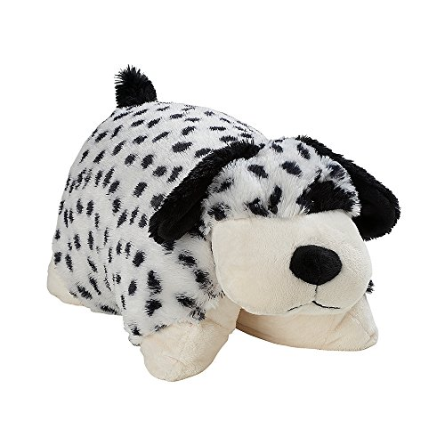 Pillow Pets Classic Dalmatian Stuffed Animal Pillow, Dalmation, 16