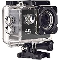 Action Camera, Topjoy 16MP F60 4K WIFI Ultra 1080p HD Sports Action Camera Waterproof Sport Camera with 2.0 Inch LCD Display and 170 Wide-angle Lens, Loop Recording