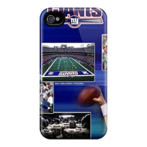 Anti-Scratch Hard Phone Covers For Iphone 4/4s With Support Your Personal Customized HD New York Giants Image KellyLast
