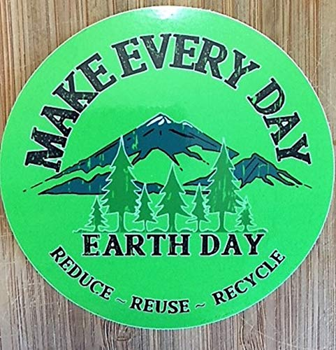 Make Every Day Earth Sticker from American Green Crafts