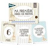 Milestone - Cartes souvenirs - Ma première année Sophie la Girafe - Papier - sophie
