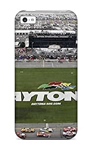 Anti-scratch And Shatterproof Attractive Nascar Soccer Field Phone Case For Iphone 5c/ High Quality Tpu Case