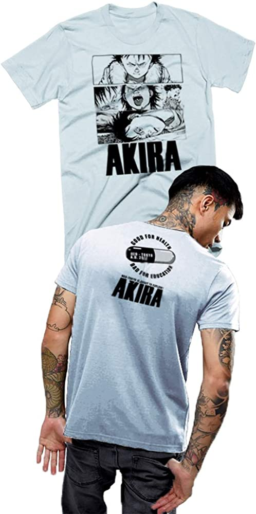 Akira T Shirt Cyberpunk Neo Tokyo Must Explode Classic Collage Amazon Com