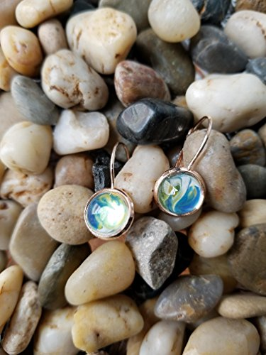 Dome Inspired (Earth Inspired Glass Dome Earrings)