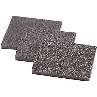 Wolfcraft 2895000 2895000-3 esponjas abrasivas, Grano 60,120,180, Set