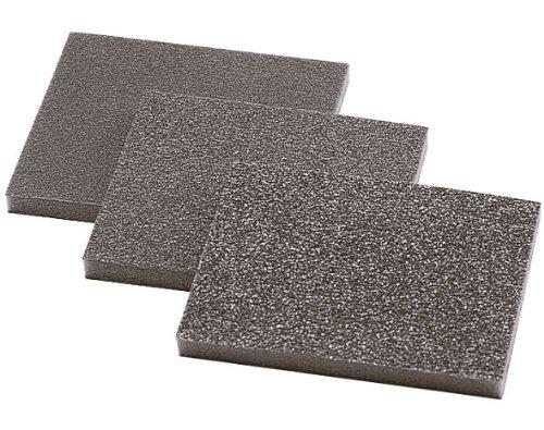 Wolfcraft 2895000 2895000-3 esponjas abrasivas, Grano 60,120,180, Set de 3 Piezas 794642