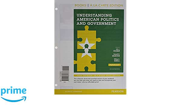 Understanding American Politics and Government, 2012 Election ...